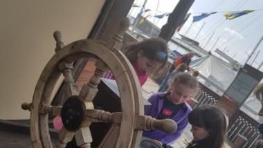 Gyermekek navigáltak a Vitorlázeumban