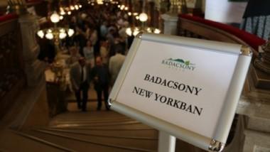 Badacsonyi borok a New York Palotában